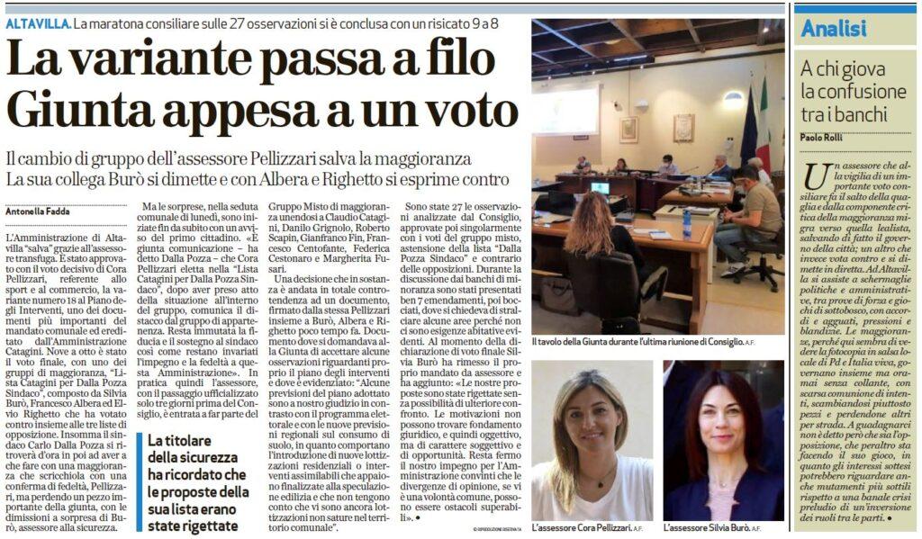 Il Giornale di Vicenza_26 maggio 2020